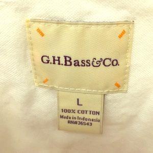 Women's GH Bass & Co shirt